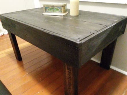 Pallet Coffee Table or TV Stand