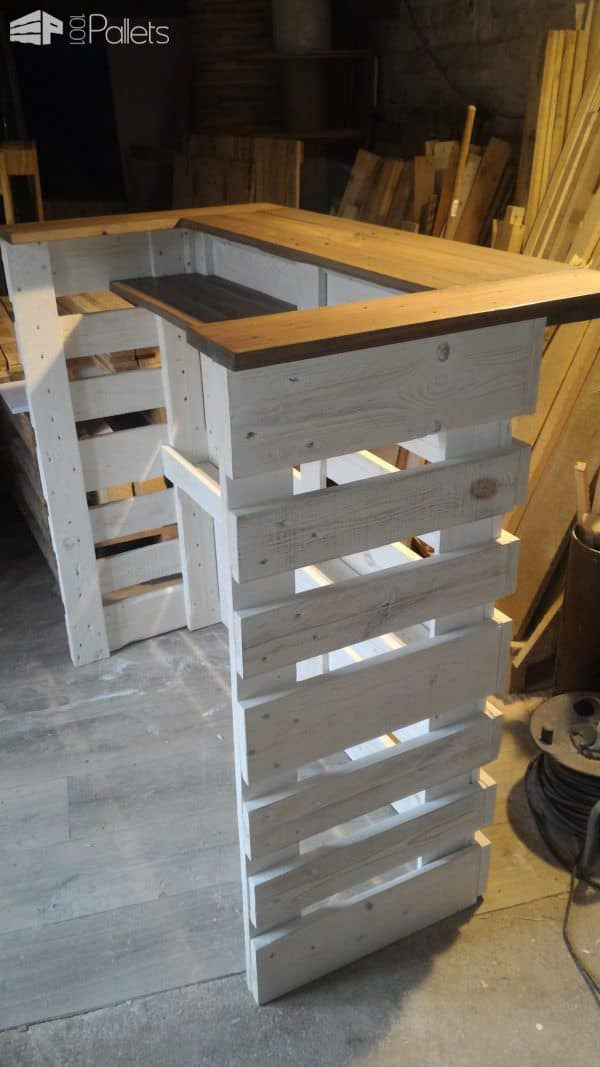 pallet console bar 1001 pallets. Black Bedroom Furniture Sets. Home Design Ideas