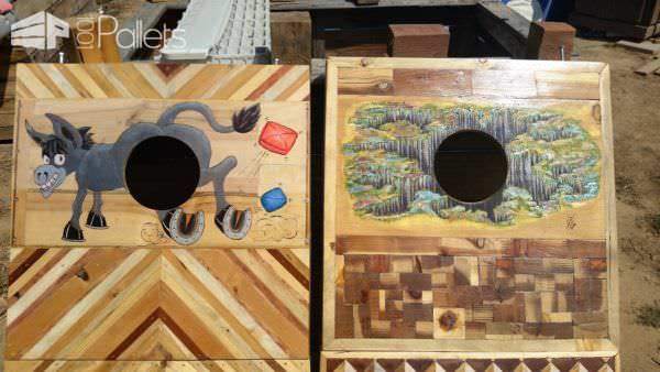 Pallet Cornhole Game Board (2nd of a Pair) Other Pallet Projects