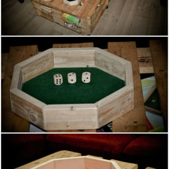 Pallet Dice Boards