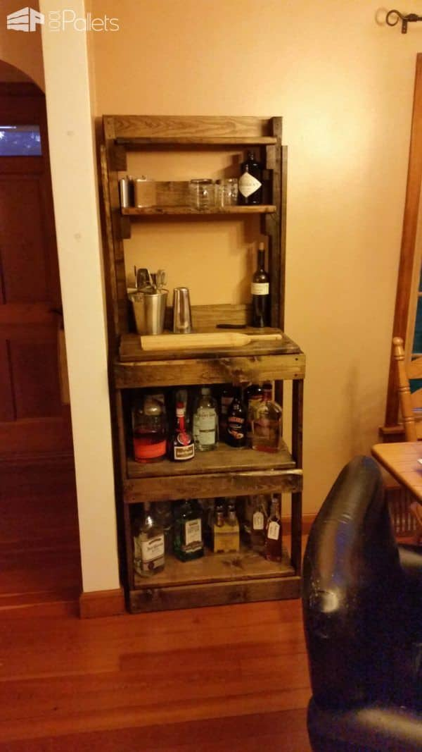 Pallet Drink Station DIY Pallet Bars