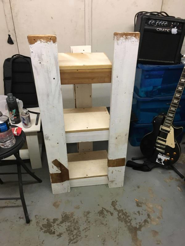 Pallet Guitar Amp Stand Other Pallet Projects