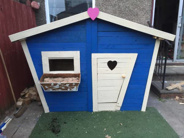 Pallet Kids Playhouse Fun Pallet Crafts for Kids Pallet Sheds, Pallet Cabins, Pallet Huts & Pallet Playhouses