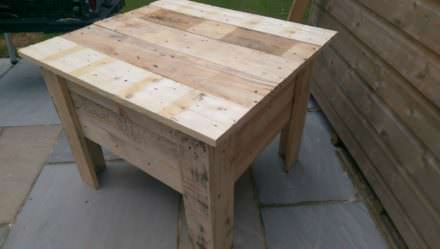 Pallet Sandbox With Lid