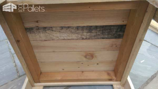 Pallet Sandbox With Lid Fun Pallet Crafts for Kids Pallets in the Garden