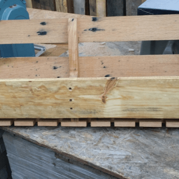 Pallet Wine Rack/Stem Holder