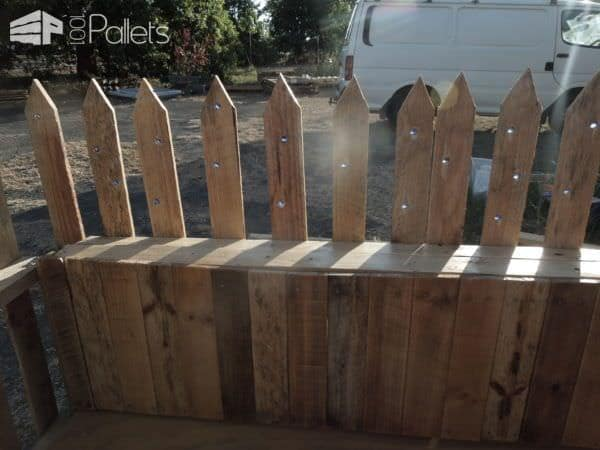 Private Pallet Garden Pallet FencesPallet Terraces & Pallet Patios