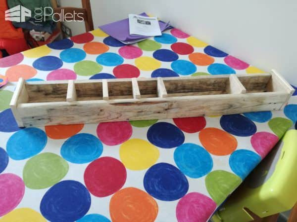 Pencils Holder & Flowerpot Pallet Home Accessories