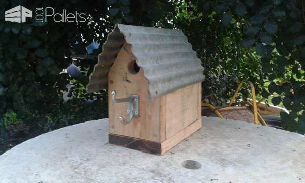 Rustic Pallet Birdhouses Animal Pallet Houses & Pallet Supplies