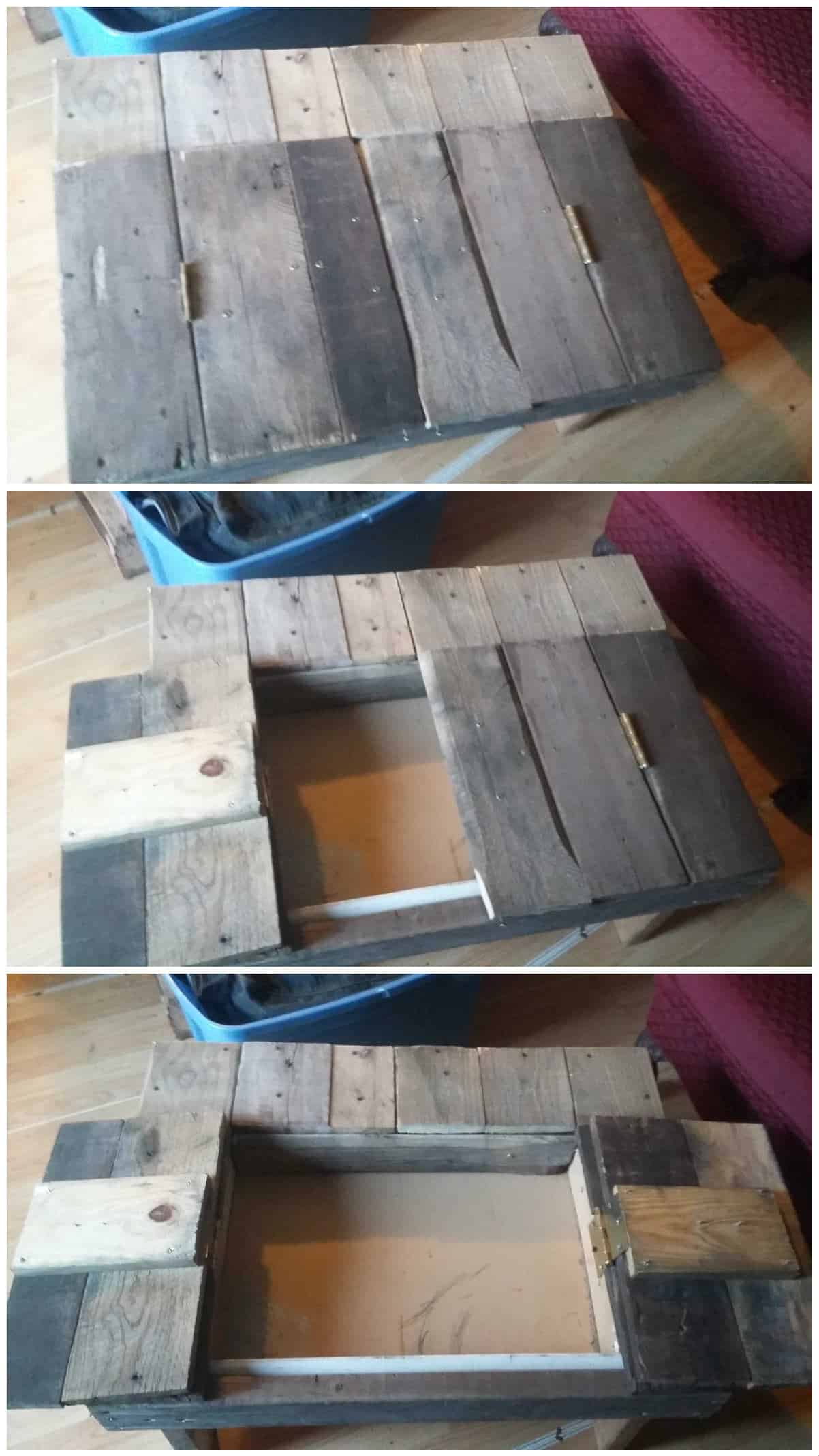 Rustic pallet coffee table 1001 pallets geotapseo Images