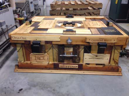 Unbelievable Outdoor Pallet Coffee Table
