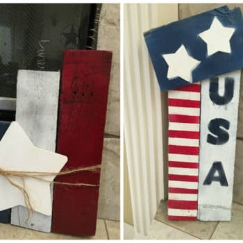 4th of July Pallet Decor