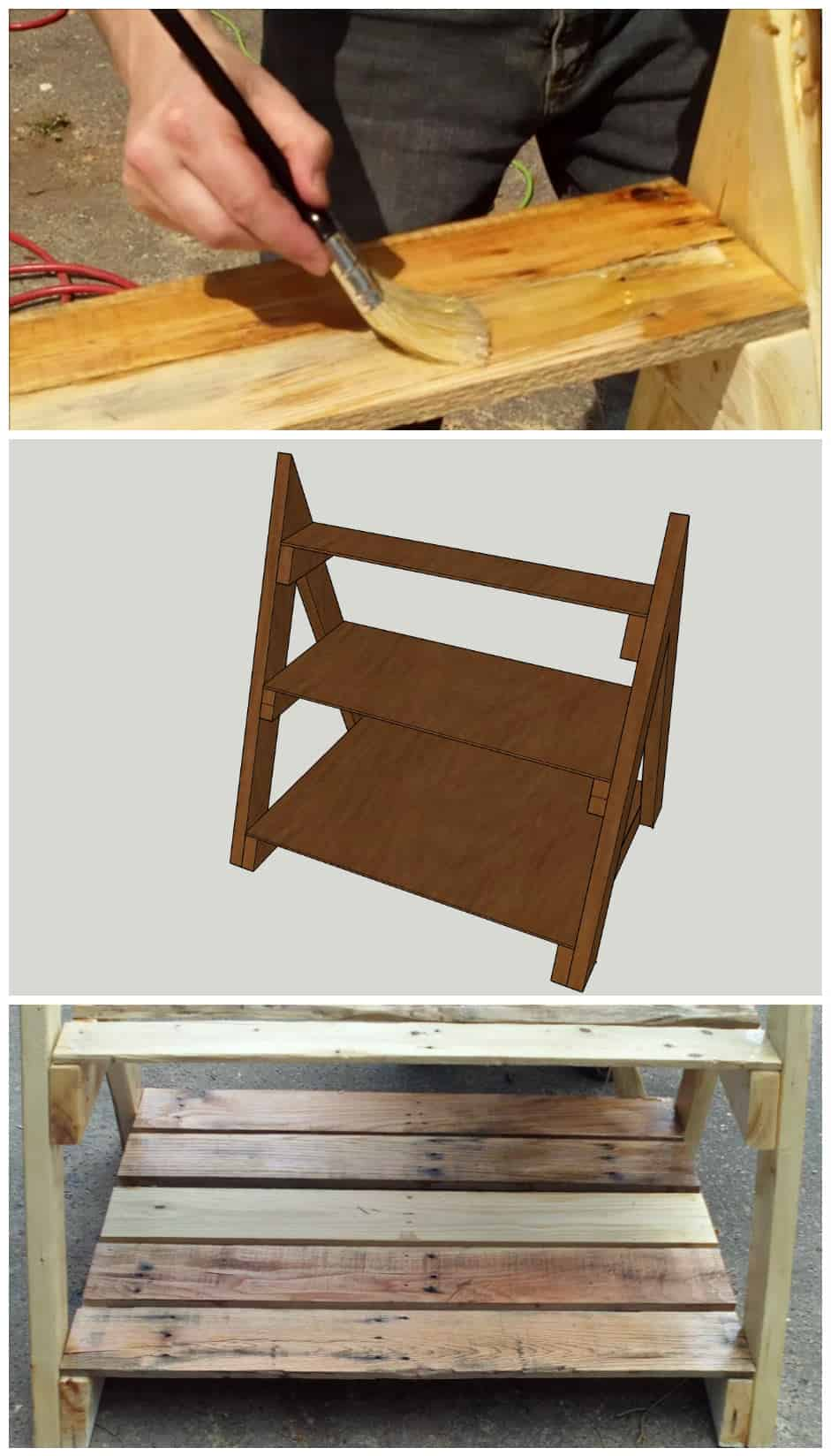 Working with pallets 5 essential woodworking power tools that won - A Frame Pallet Shelving Unit