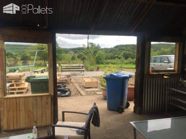 Amazing Pallet Shed Renovation Pallet Sheds, Pallet Cabins, Pallet Huts & Pallet Playhouses