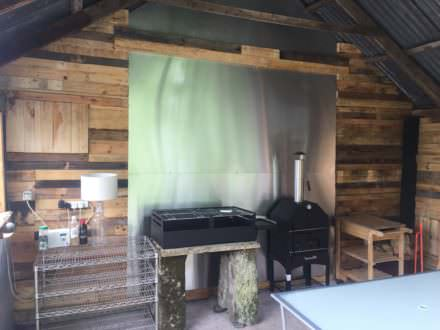 Amazing Pallet Shed Renovation