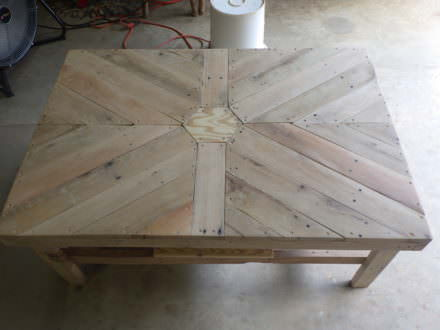 Beautiful Hexagonal Coffee Table