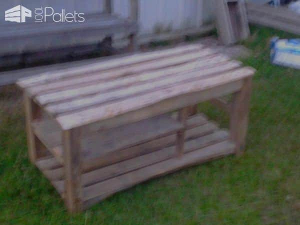 Heavy Pallet Bench Other Pallet Projects Pallet Benches, Pallet Chairs & Pallet Stools