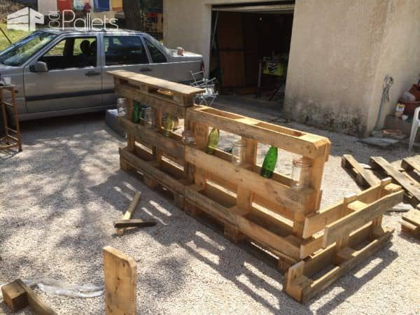 Led-lit Pallet Bar Pallet Bars