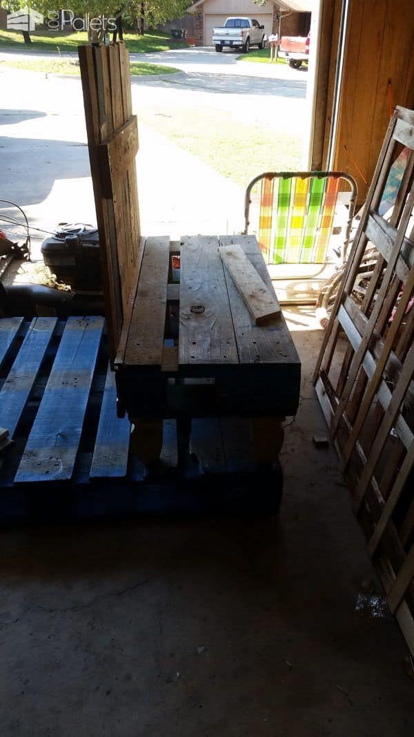 Pallet Hall Tree/Bench Pallet Benches, Pallet Chairs & Stools
