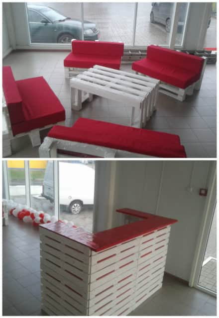 Pallet Lobby Furniture