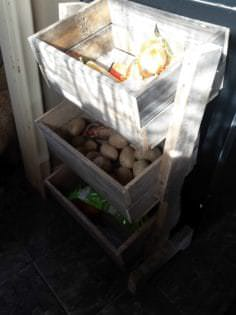 Pallet Vegetable Bin • 1001 Pallets
