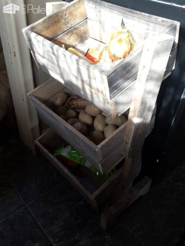 Pallet Vegetable Bin Pallet Home Accessories