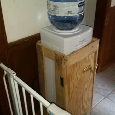 Pallet Water Cooler Enclosure