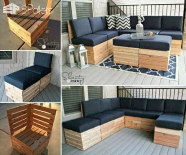 6 Trendy Furniture Ideas Made With Pallet Wood 1001 Pallets
