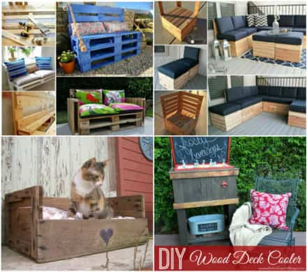 6 Trendy Furniture Ideas Made with Pallet Wood