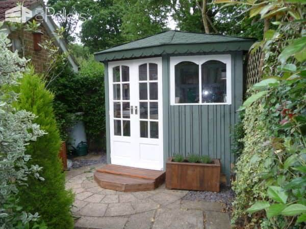 Amazing Pallet Summer Cottage Pallet Sheds, Pallet Cabins, Pallet Huts & Pallet Playhouses