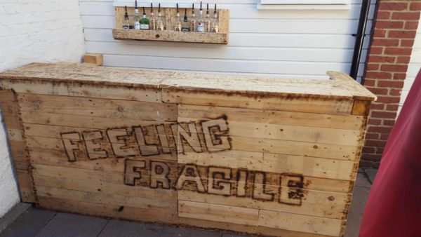 Feeling Fragile Pallet Bar Pallet Bars
