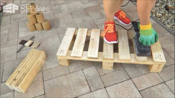 Fun DIY Pallet Bench/Shoe Rack Pallet Benches, Pallet Chairs & Stools Pallet Tutorials