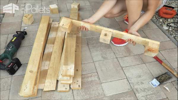 Fun Diy Pallet Bench Shoe Rack 1001 Pallets