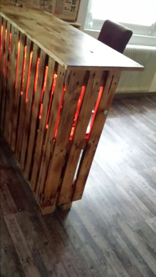 Outstanding Pallet Kitchen Remodel Stage 1 Pallet Bars Pallet Desks & Pallet Tables Pallet Home Accessories Pallet Lamps & Lights