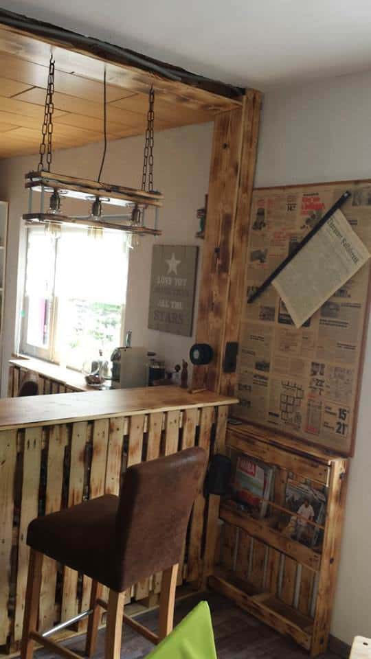 Outstanding Pallet Kitchen Remodel Stage 1 DIY Pallet Bars Pallet Desks & Pallet Tables Pallet Home Accessories Pallet Lamps, Pallet Lights & Pallet Lighting