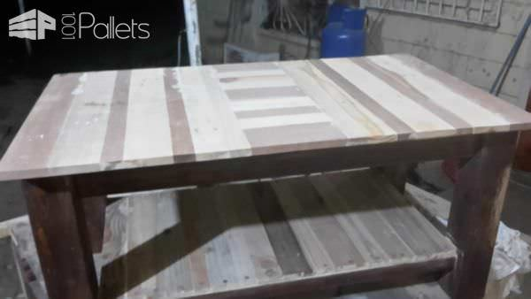 Pallet Coffee Table With Shelf Pallet Coffee Tables