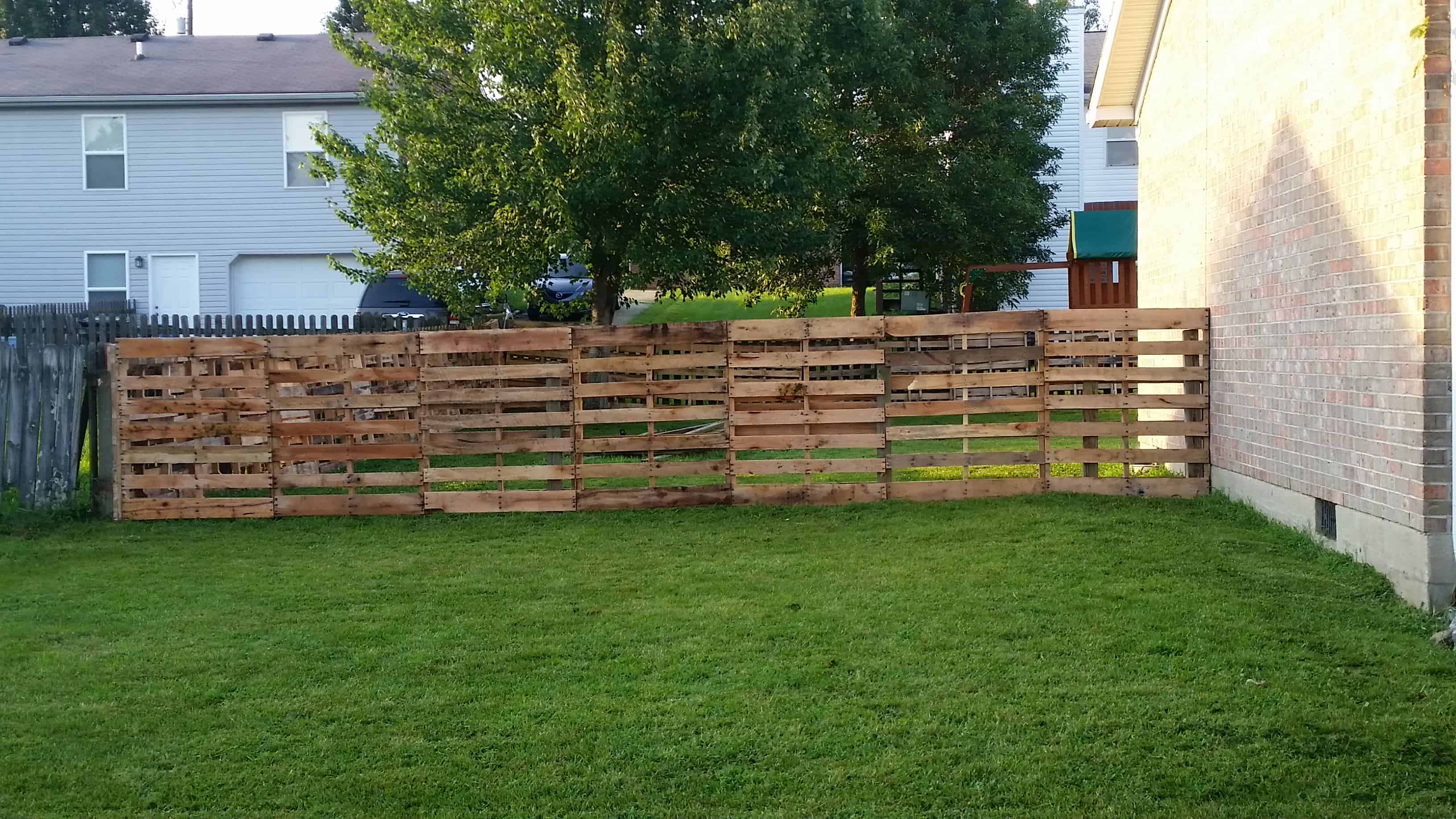 Pallet Fence Ideas 1001 Pallets