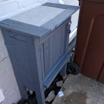 Pallet Gas Meter Cover-up