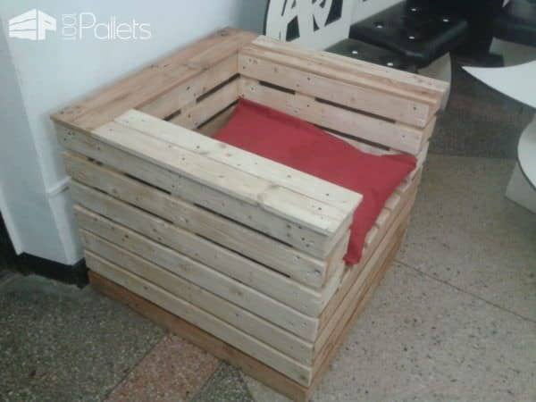 Pallet Gift Chair Pallet Benches, Pallet Chairs & Stools
