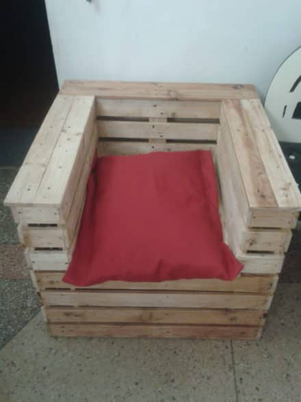 Pallet Gift Chair
