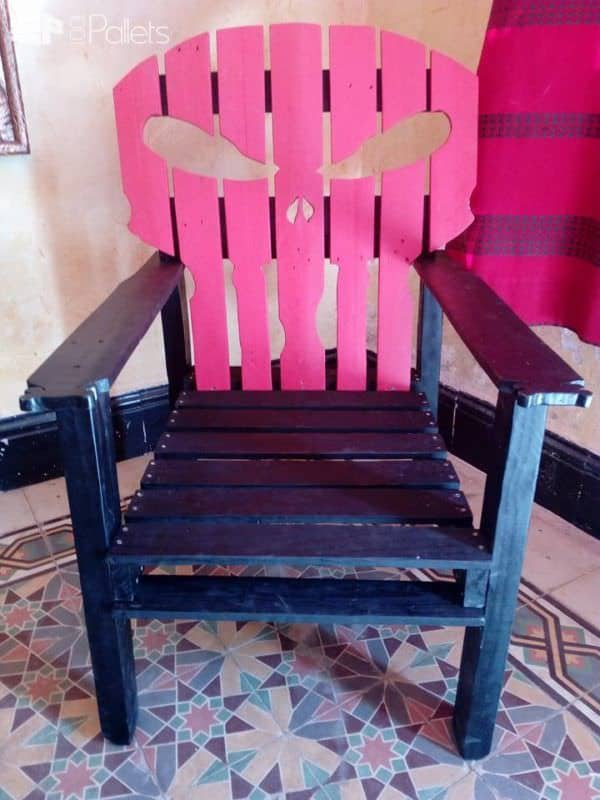 Pallet Punisher Chair! Pallet Benches, Pallet Chairs & Stools