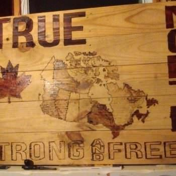 Pallet Pyrography Wall Art