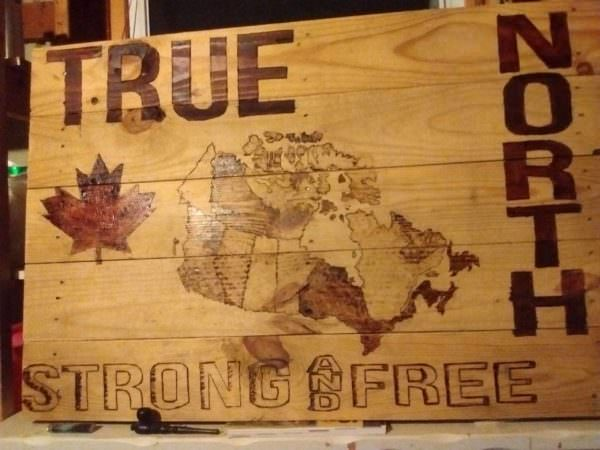 Pallet Pyrography Wall Art Pallet Wall Decor & Pallet Painting
