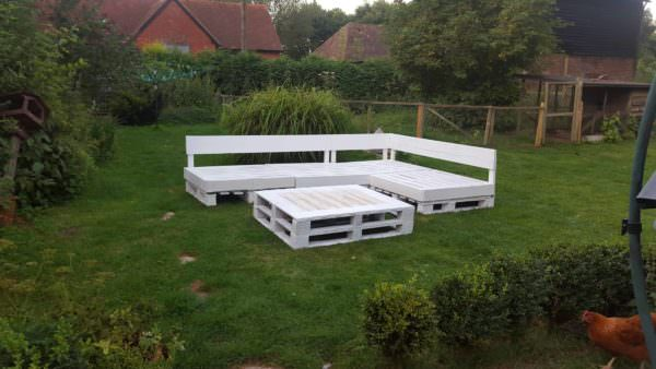 Pallet Seating Area Lounges & Garden Sets