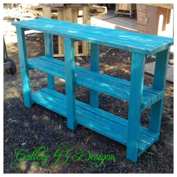 Pallet TV Console Pallet TV Stand & Rack