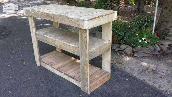 Pallet TV Stand/Entertainment Center Pallet TV Stand & Rack Step-By-Step Printable Pallet PDF Tutorials