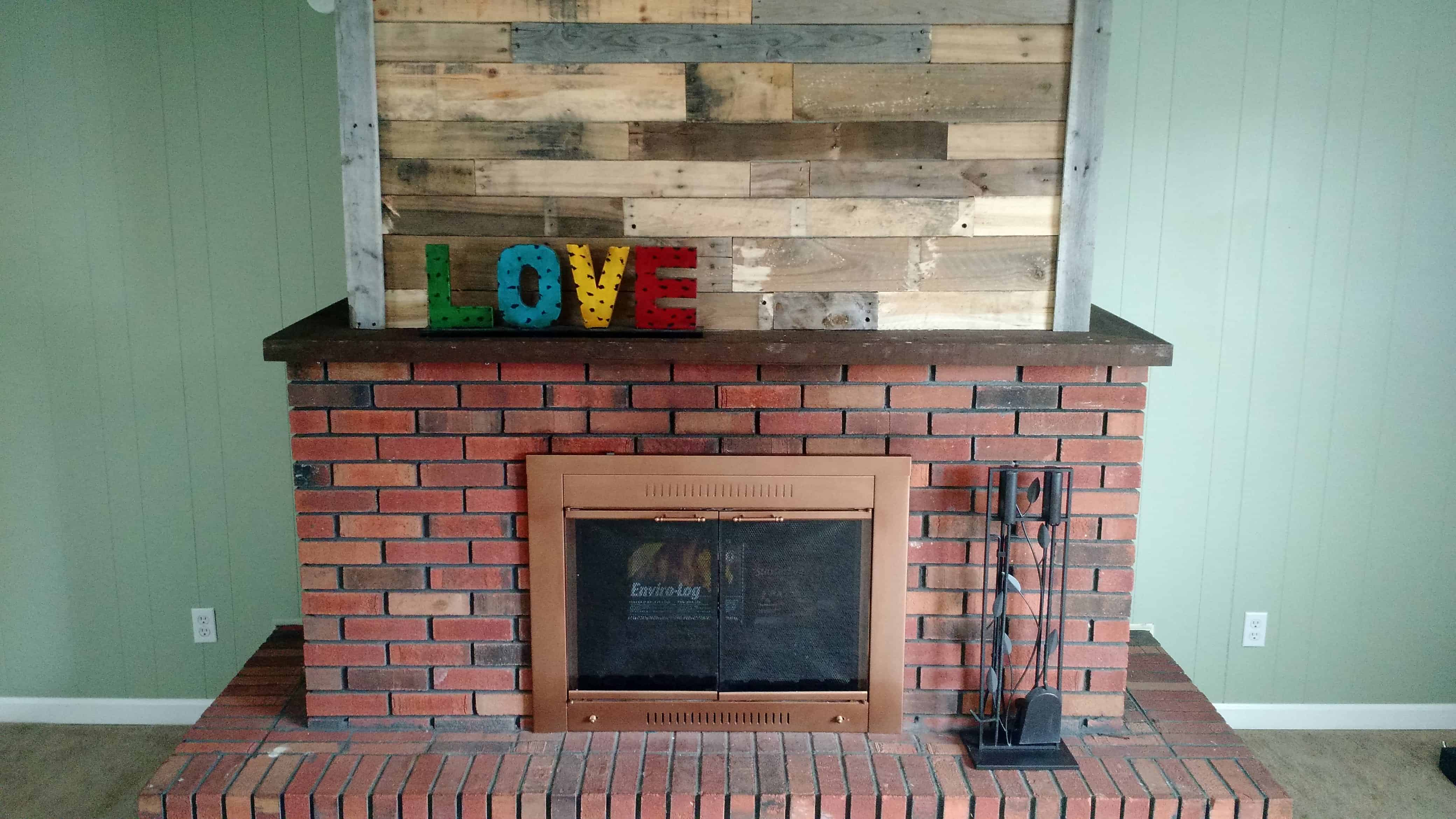 Pallet Wood Fireplace 1001 Pallets