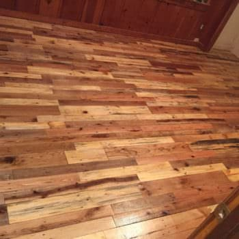 Pallet Wood Floors Two Ways
