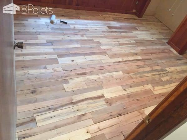 Pallet Wood Floors Two Ways Pallet Flooring