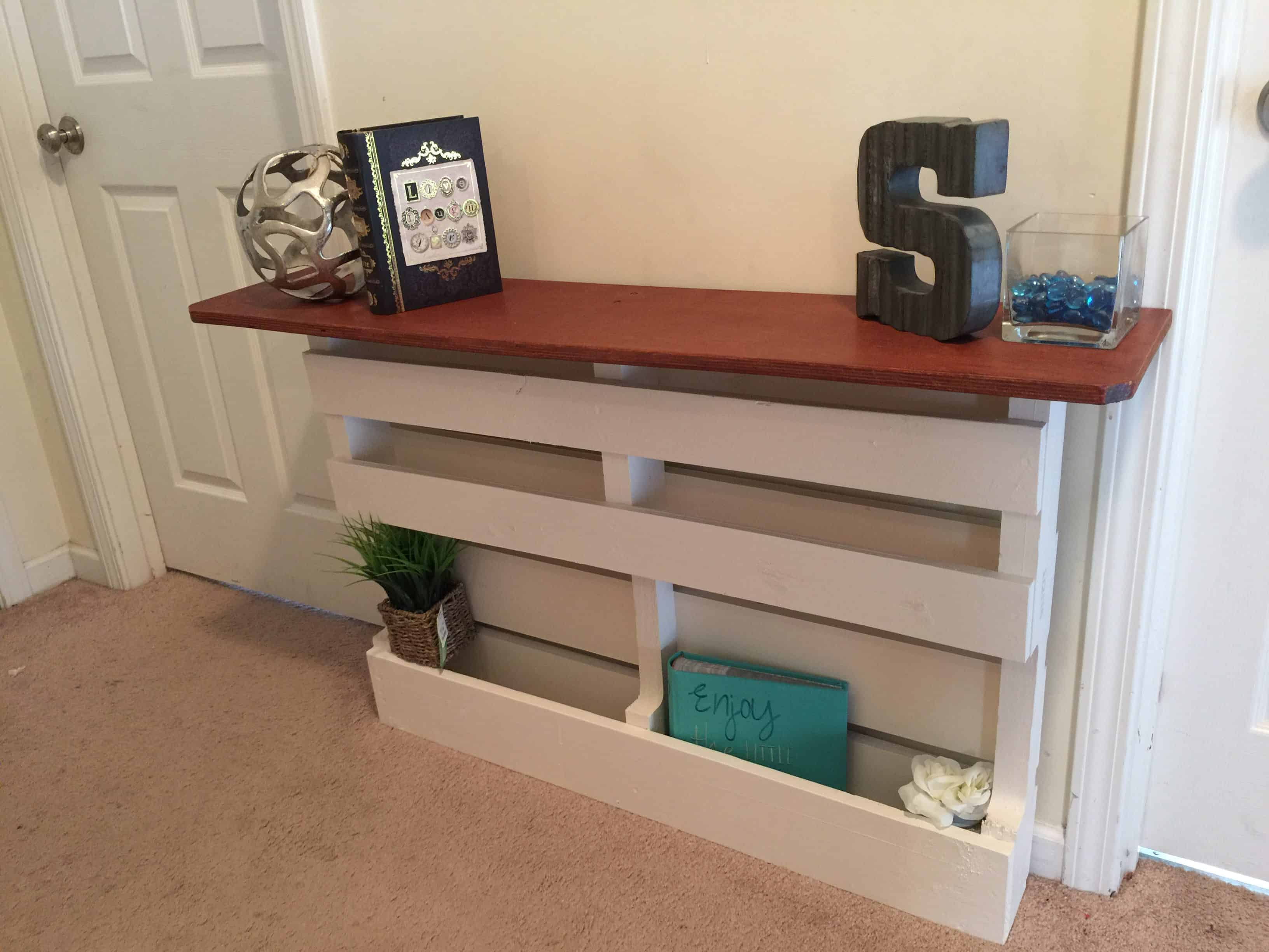 Bathroom cabinets and storage units - Shabby Chic Pallet Shelving Units Pallet Ideas 1001 Pallets